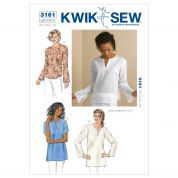 Kwik Sew Ladies Easy Sewing Pattern 3161 Tops & Tunics
