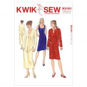 Kwik Sew Ladies Sewing Pattern 3181 Fitted Dress & Jacket Suits