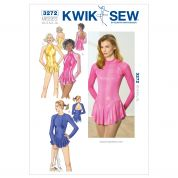 Kwik Sew Ladies Sewing Pattern 3272 Dance Wear Leotards