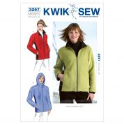 Kwik Sew Ladies Sewing Pattern 3297 Jackets & Fleeces