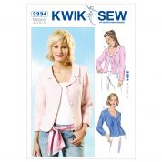 Kwik Sew Ladies Sewing Pattern 3334 Fitted Jackets