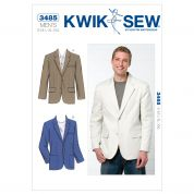 Kwik Sew Mens Sewing Pattern 3485 Smart Blazer Jacket