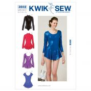 Kwik Sew Ladies Sewing Pattern 3502 Dancewear Leotards