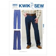 Kwik Sew Mens Sewing Pattern 3504 Jeans Pants