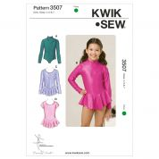 Kwik Sew Childrens Sewing Pattern 3507 Dancewear Leotards