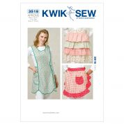 Kwik Sew Ladies Easy Sewing Pattern 3518 Fancy Aprons