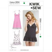 Kwik Sew Ladies Sewing Pattern 3554 Lingerie Slips & Panties