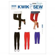 Kwik Sew Ladies Easy Sewing Pattern 3636 Leggings