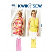 Kwik Sew Ladies Sewing Pattern 3691 Tunic & Top