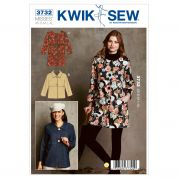 Kwik Sew Ladies Sewing Pattern 3732 Straight Unlined Jackets