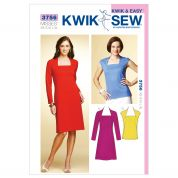 Kwik Sew Ladies Sewing Pattern 3756 Dress & Top