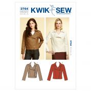 Kwik Sew Ladies Sewing Pattern 3764 Unlined Jackets with Collar