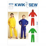 Kwik Sew Childrens Unisex Sewing Pattern 3773 Tracksuit