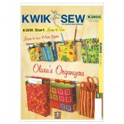Kwik Sew Homeware Easy Sewing Pattern 3900 Wall Hanging Organisers