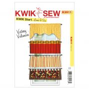 Kwik Sew Home Decor Easy Learn to Sew Sewing Pattern 3911 Valances
