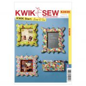 Kwik Sew Homeware Easy Sewing Pattern 3939 Frames & Magazine Rack