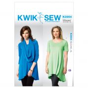Kwik Sew Ladies Easy Sewing Pattern 3954 Drapey Tunic Tops