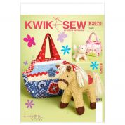 Kwik Sew Crafts Sew Sweet Chic Sewing Pattern 3970 Pet Cuddly Toys & Pet Bags
