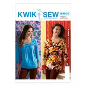 Kwik Sew Ladies Sewing Pattern 3986 Summer Tops & Belt