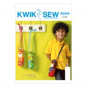 Kwik Sew Crafts Sew Sweet Chic Sewing Pattern 4009 Water Bottle Carriers
