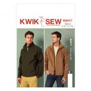 Kwik Sew Mens Sewing Pattern 4017 Unlined Jackets