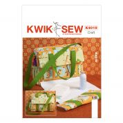 Kwik Sew Baby Sewing Pattern 4019 Nappy Diaper Bag