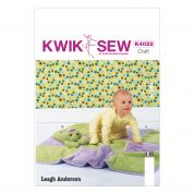 Kwik Sew Baby & Toddler Leagh Anderson Easy Sewing Pattern 4022 Blanket & Toy