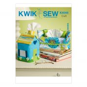 Kwik Sew Homeware Easy Sewing Pattern 4049 Tissue Box Covers