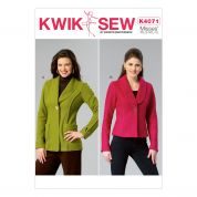 Kwik Sew Ladies Sewing Pattern 4071 Shawl Collar Jackets