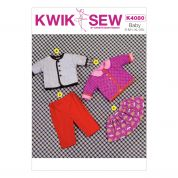 Kwik Sew Baby Sewing Pattern 4080 Jacket, Skirt & Pants