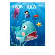 Kwik Sew Childrens Easy Sewing Pattern 4091 Jonah & Whale Toys