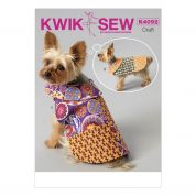 Kwik Sew Pets Easy Sewing Pattern 4092 Dog Coats