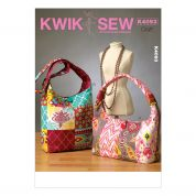 Kwik Sew Accessories Easy Sewing Pattern 4093 Mix & Match Bags