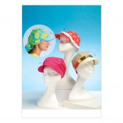 Kwik Sew Ladies Easy Sewing Pattern 4107 Summer Hats in 4 Styles