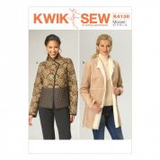 Kwik Sew Ladies Sewing Pattern 4139 Semi Fitted Jackets in 2 Lengths