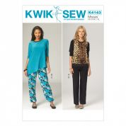 Kwik Sew Ladies Easy Sewing Pattern 4143 Dressing Gown & Pyjamas