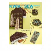 Kwik Sew Homeware Easy Sewing Pattern 4147 Travel & Wardrobe Accessories
