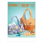 Kwik Sew Accessories Easy Sewing Pattern 4149 Hobby Tote & Bag