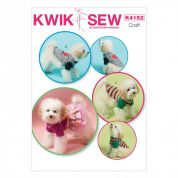 Kwik Sew Pets Easy Sewing Pattern 4152 Dog Coats & Clothes
