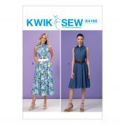 Kwik Sew Ladies Sewing Pattern 4155 Shirtdresses