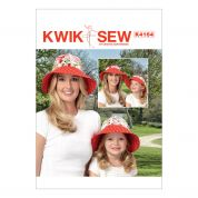 Kwik Sew Ladies & Girls Easy Sewing Pattern 4164 2 in 1 Hat & Visor