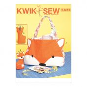 Kwik Sew Accessories Easy Sewing Pattern 4212 Tote Bag & Scissor Holder