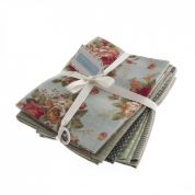 Fat Quarter Cotton & Linen Fabric Bundle  Fresh