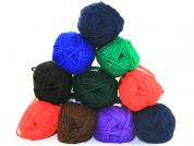 Loweth Crafty Knit Knitting Yarn  DK  Assorted Dark Colours