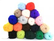 Loweth Knitting Yarn Variety Pack  DK  Assorted Colours