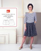 Liesl + Co Ladies Easy Sewing Pattern Soho Shorts & Skirt