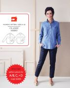 Liesl + Co Ladies Sewing Pattern Classic Shirt