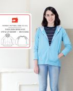 Liesl + Co Sewing Pattern Neighborhood Sweater & Hoodie