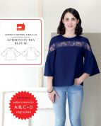 Liesl + Co Sewing Pattern Afternoon Tea Blouse