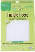 Legacy Low Loft Fusible Fleece  Natural